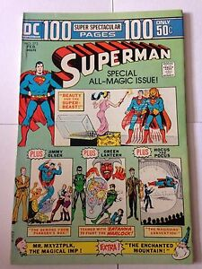 Superman-272-February-1974-DC-100-Page-Giant