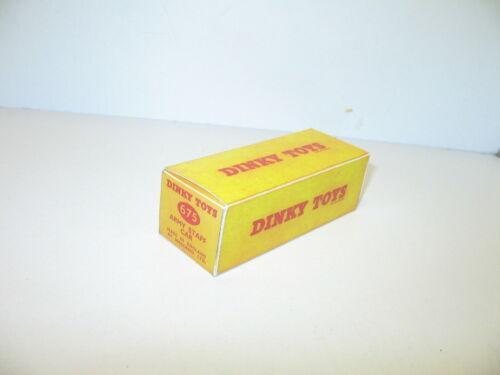 bt repro dinky-toys ref.675 army military N43 139 ford sedan box am