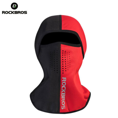 ROCKBROS Winter Cycling Skiing Thermal Face Mask Outdoor Sporting Cap One Size