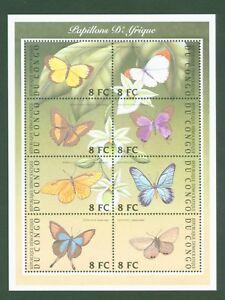 Kongo-Congo-2001-Schmetterlinge-Papillons-Butterflies-Farfalle-A1661-H1661