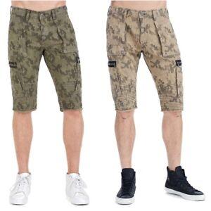 True-Religion-Men-039-s-Moto-Cargo-Camo-Shorts
