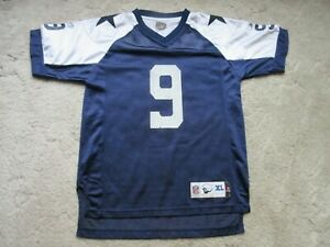 lowest price 8347b 0ed9a Details about DALLAS COWBOYS TONY ROMO VINTAGE THROWBACK REEBOK JERSEY  YOUTH SIZE XL 18-20