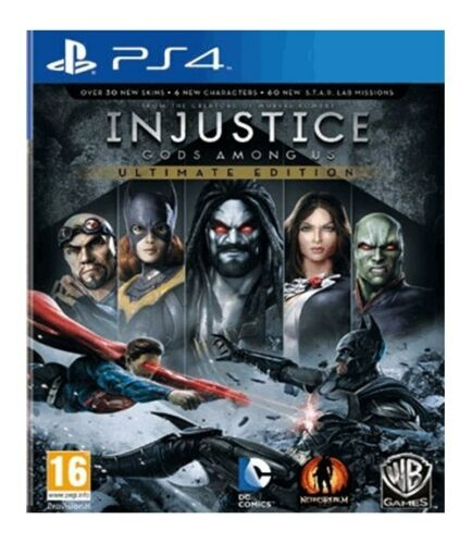 1 of 1 - Injustice: God Amongst Us - Ultimate Edition (PS4)