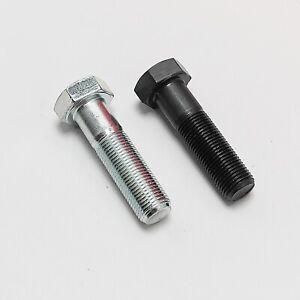 - aus rostfreiem Edelstahl A2 ISO 4014 Sechskantschrauben mit Schaft - Maschinenschrauben 10 St/ück V2A DIN 931 - SC931 M8x65 -
