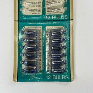 Focal Kmart AG-1B Flashbulbs Vintage (12 bulbs)