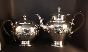 Antique Wm Rogers, Hamilton, Ontario #1047 Silver Plate Tea Pot ...