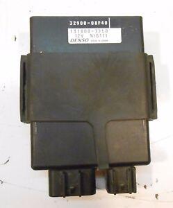 98 99 00 01 SUZUKI GSX 750 F KATANA ENGINE COMPUTER CDI
