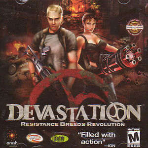 DEVASTATION-Resistance-Breeds-Revolution-Action-Shooter-PC-Game-NEW-SEALED