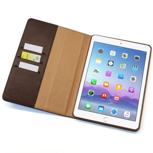 """Custodia in pelle per il nuovo Apple iPad 9,7/"""" di 2018 Tablet Custodia Cover Case"""