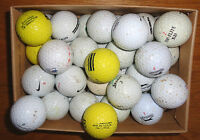 12 Mixed Golf Balls Mix Brands and colours