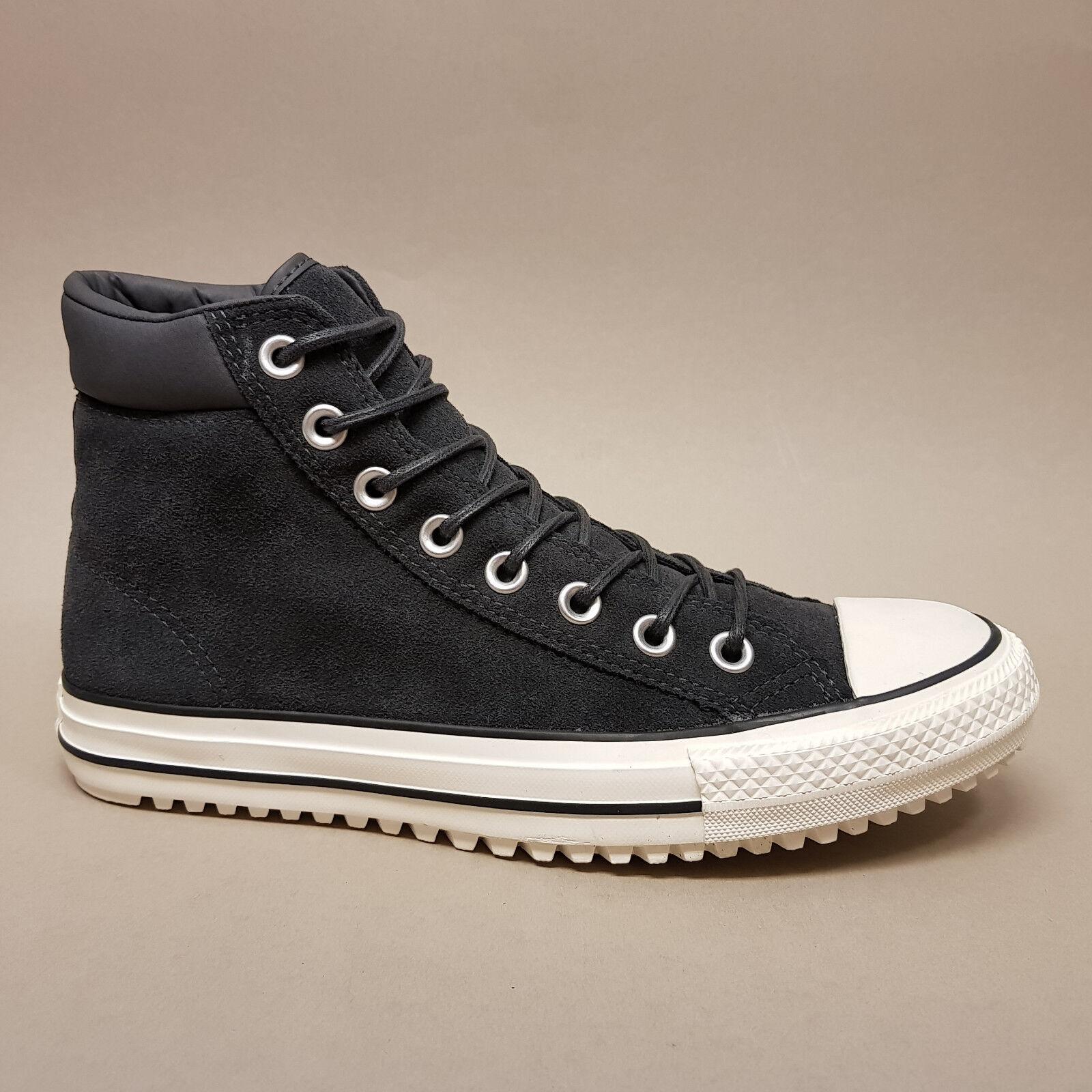 Converse All Star Chuck Hi Boot PC Black Egret 153675C Sneaker Wildleder schwarz