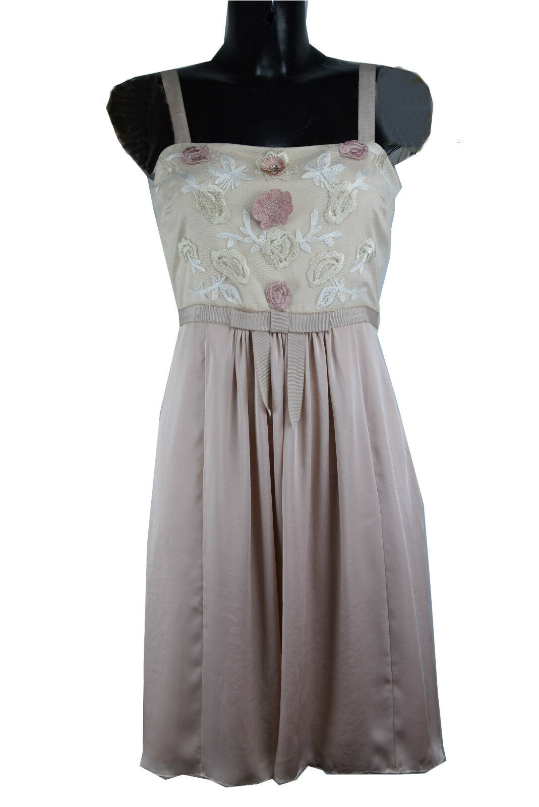 ALICE BY TEMPERLEY pink EMBROIDERY DRESS RRP  F1