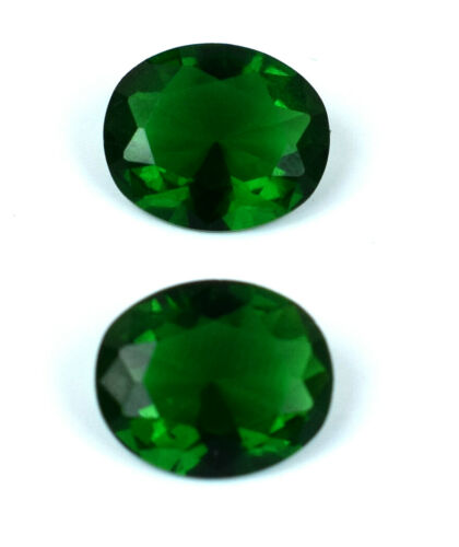 Colombian Emerald 6.50 Ct Ring Size Gemstone Pair Natural Oval AGSL Certified