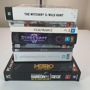 PC-Games-Bulk-Bundle-Lot-Box-of-9-Titles