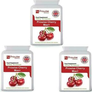 Cherry Max 750mg 90 Capsules - Pack of 3 by Prowise Healthcare