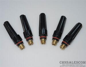 57Y03 Fit TIG Welding Torch SR WP-17 18 26 Series 5PCS Medium TIG Back Caps