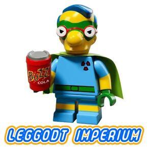 LEGO-Minifigure-Simpsons-S2-Milhouse-Fallout-Boy-minifig-colsim26-FREE-POST