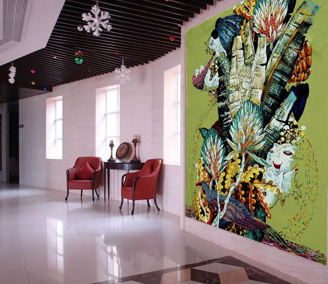 3D Abstraktion Stil Malerei 73 Tapete Wandgemälde Tapete Tapeten Bild Familie DE