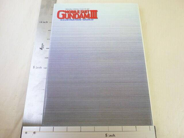 Gundam Mobile Suit Abbildung World III 3 Kunst Buch