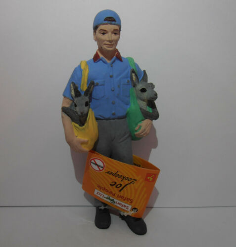 298329 JOE ZOOKEEPER HUMAN MODEL by SAFARI WORKS WELL WITH SCHLEICH AND PAPO