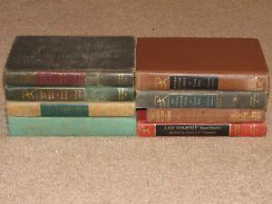 Lot-of-8-Modern-Library-HB-novels-Faulkner-Hardy-Hawthorne-Tolstoy-more