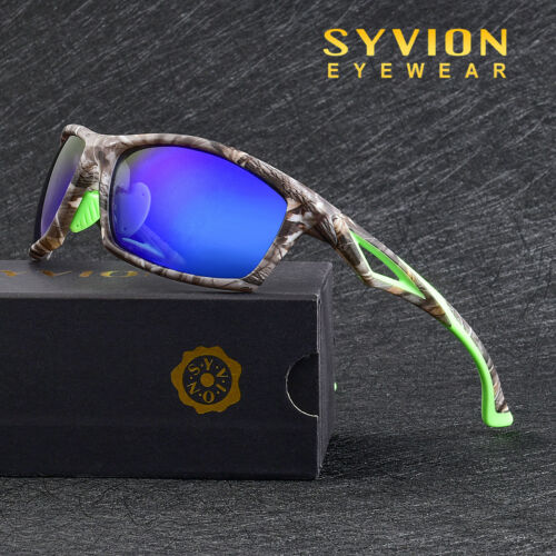 Mens Polarized Sport Cycling Glasses Goggles Driving Fishing Mirror Sunglasses 1