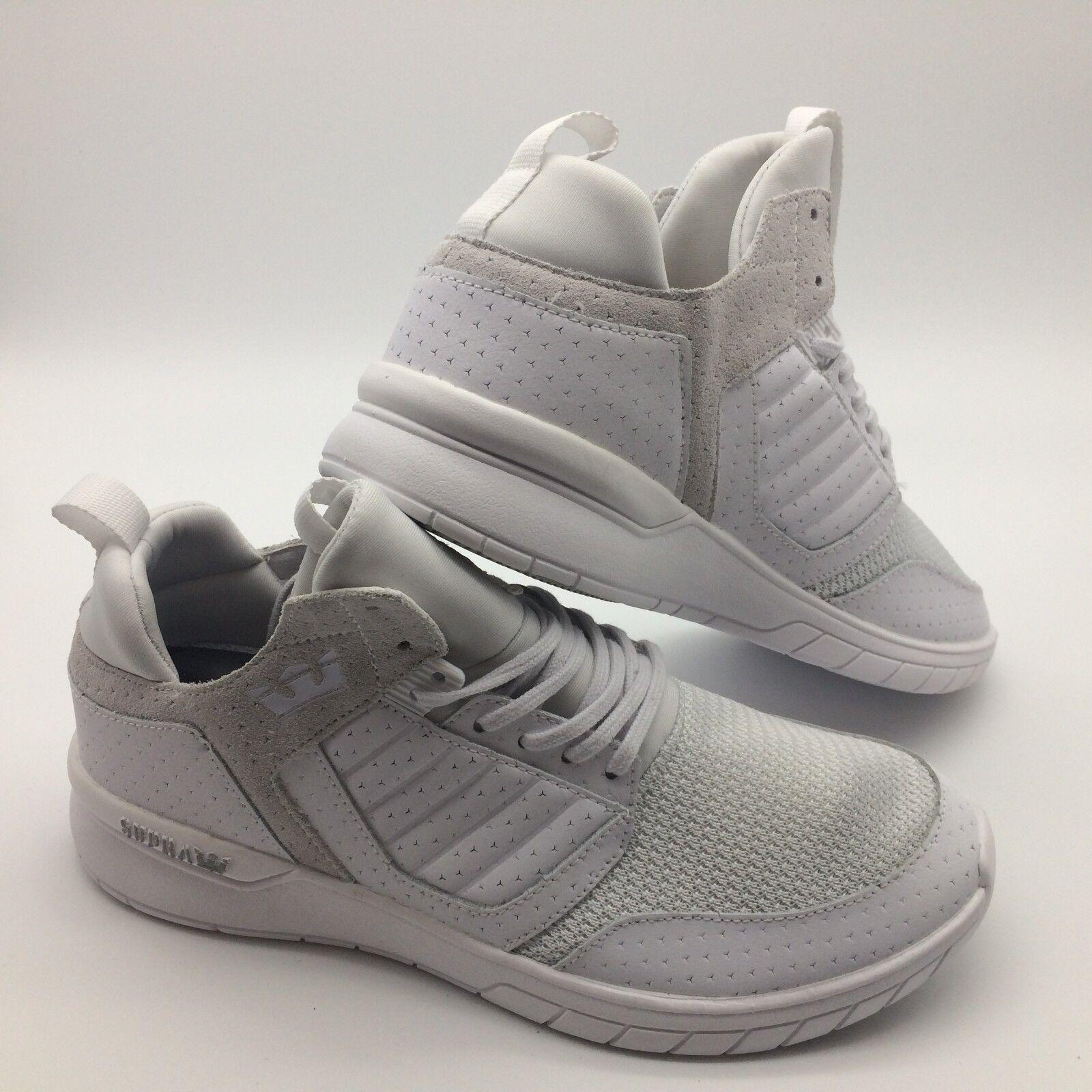 Supra Herren Schuhe & 039;& 039;Methode& 039;& 039; Weiß Weiß