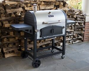 Barbecue Charcoal Grill Bbq Patio Outside Backyard Outdoor Deck Grills Large 872076014102 Ebay