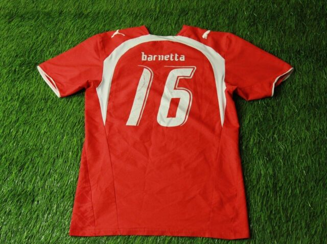 SWITZERLAND # 16 BARNETTA 2006-2008 FOOTBALL SHIRT JERSEY HOME PUMA ORIGINAL