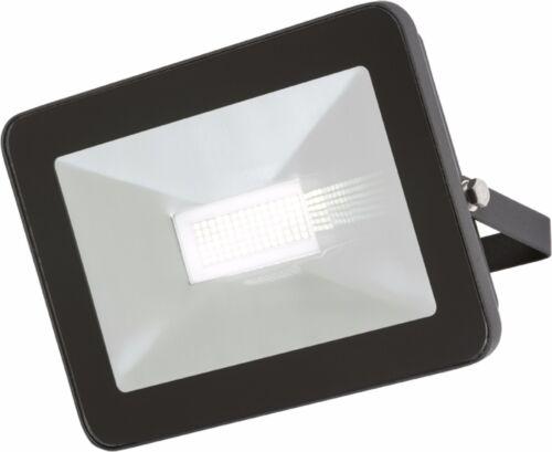 Knightsbridge LED Black Slimline Security Floodlight 50W IP65 Die-Cast Aluminium