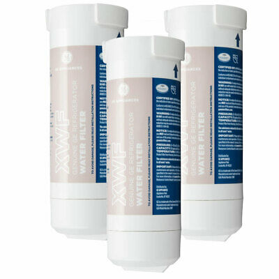 GE XWF Genuine Refrigerator Water Filter GWE19JSLSS Fits WR17X30702 3 Pack