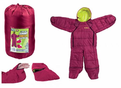 Wearable Sleeping Bag Body Suit Arms+Legs Chidrens//Kids Berry Motion Sac Fishing