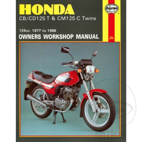 Motorrad-Tuning & -Styling Honda CB 125 T Twin 1980 Haynes Service ...