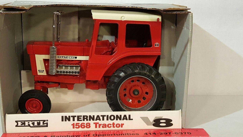 Ertl International 1568 V8 Farmall1 16 diecast farm tractor replica collectible