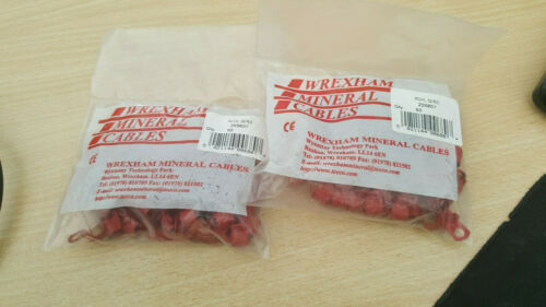 Micc Pyro Cable Clips 50 Wrexham Mineral Cables RCHL 37//RD X 50