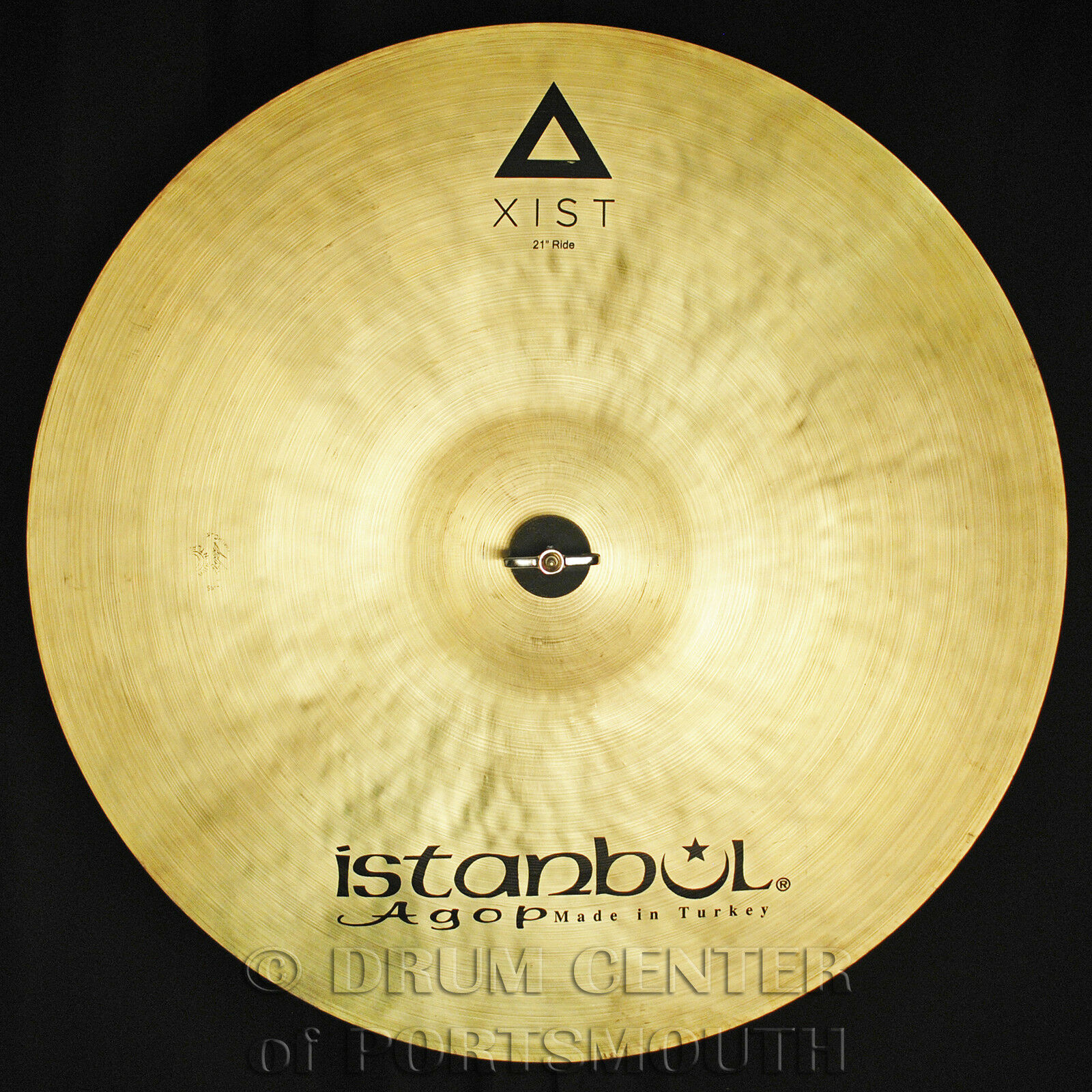 Istanbul Agop Xist Natural Ride Cymbal 21  - Video Demo
