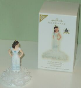 2009-Hallmark-GWTW-Scarlett-O-039-Hara-70th-Anniv-MIB-Sp-Ed-RARE-Hard-to-Find