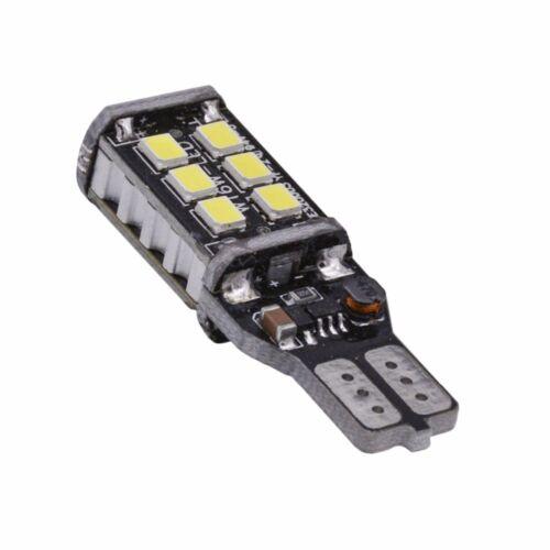 2PC Bright White Canbus Error 15SMD 2835 T15 W16W LED Car Reverse Backup Light