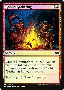 Goblin Electromancer FOIL Return to Ravnica NM Blue Red Common CARD ABUGames