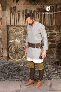 Grey by Burgschneider Medieval Tunic Viking //Larp