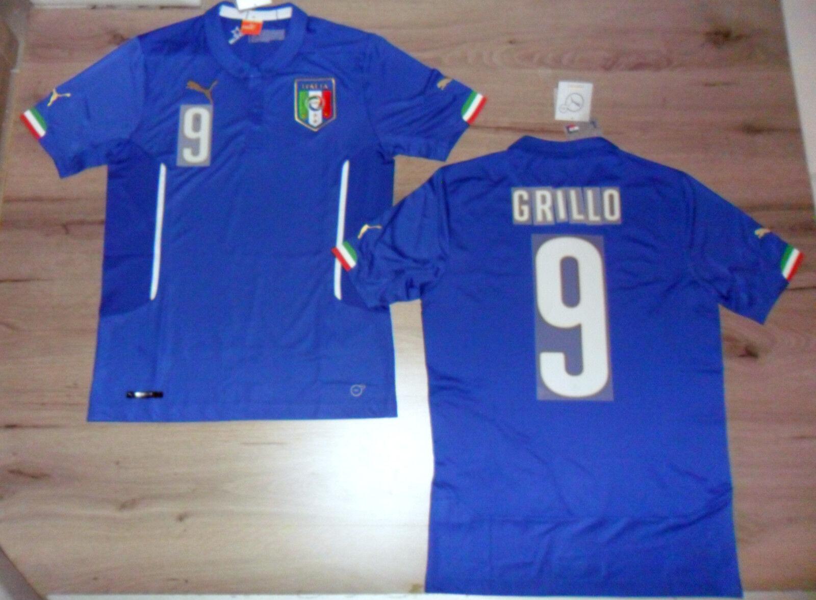 FW14 PUMA XXL XXL XXL HOME ITALIEN 9 BEPPE GRILLO SPERRFENSTER T-SHIRT WELT TRIKOT 10533c