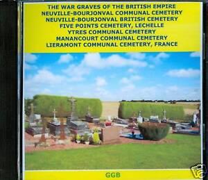 WAR-GRAVES-OF-NEUVILLE-BOURJONVAL-OTHERS-CD