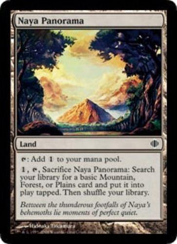 Naya Panorama x4 Shards of Alara SOA MtG NM pack-fresh