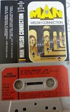 MAN The welsh connection    RARE SPANISH cassette  1976 PAPER LABEL PROGRESIVE