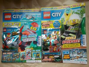 QUADBIKE NEW THE LEGO CITY SPECIAL LIMITED EDN MAGAZINE ED 5 WITH MINIFIG