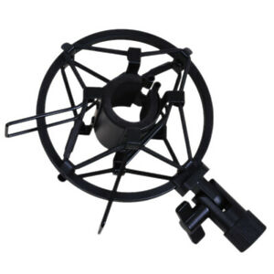 Handheld-Condenser-Microphone-Shock-Mount-Clip-Mic-Studio-Holder-for-26-33mm-Mic