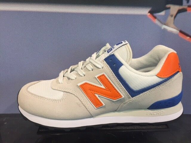 New Balance 574 Classic Nimbus Cloud Bengal Tiger Beige bluee GS PS TD MEN 5C-13