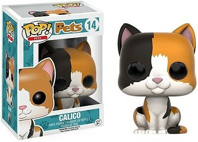 Calico - Funko Pop! Pets (2016, Toy New)