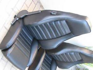 PORSCHE-911-912-930-TURBO-SPORT-SEAT-KIT-NEW-GERMAN-VINYL-UPHOLSTERY-KIT-NEW