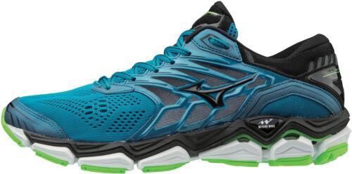 Blue Mizuno Wave Horizon 2 Mens Running Shoes
